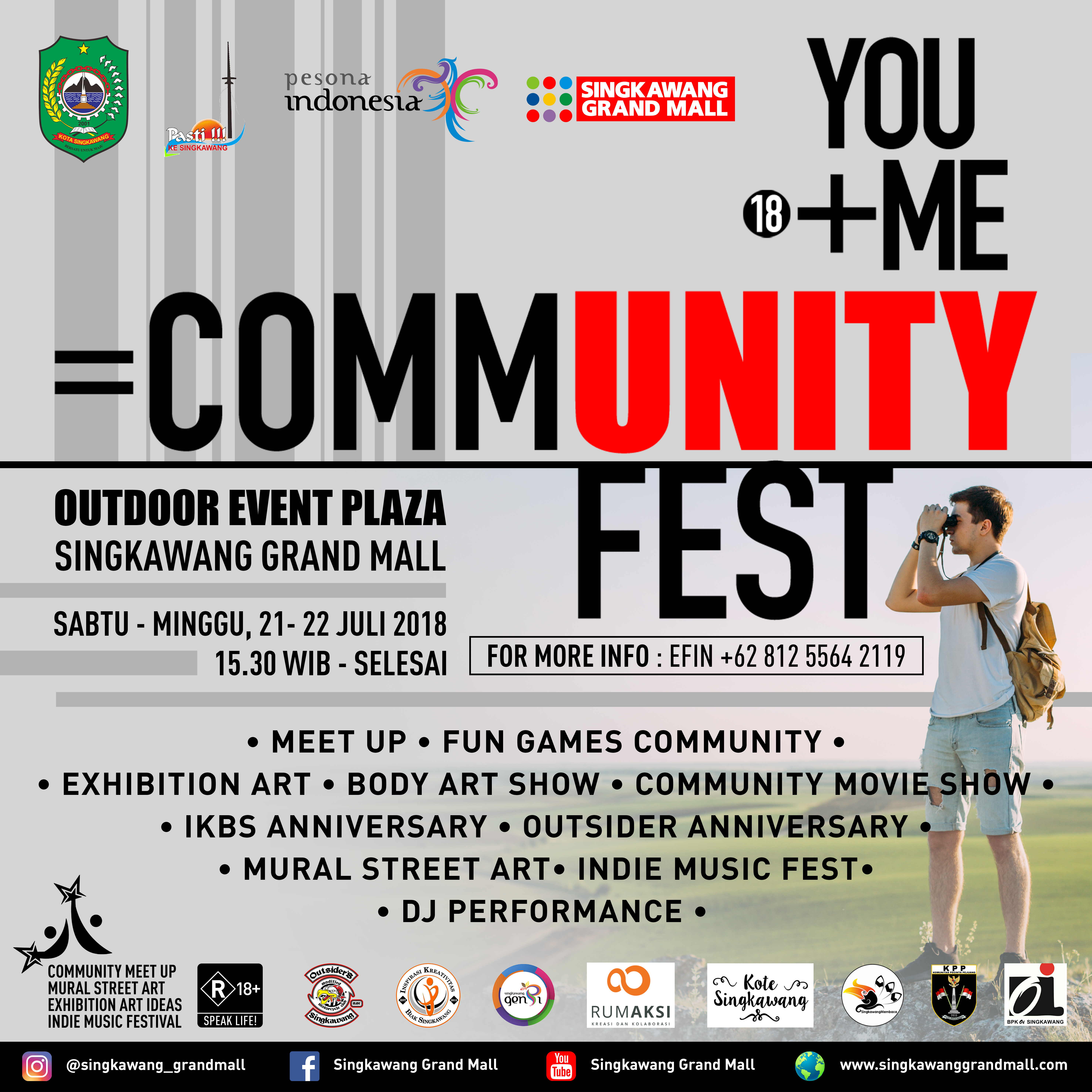 Community Fest Singkawang Grand Mall