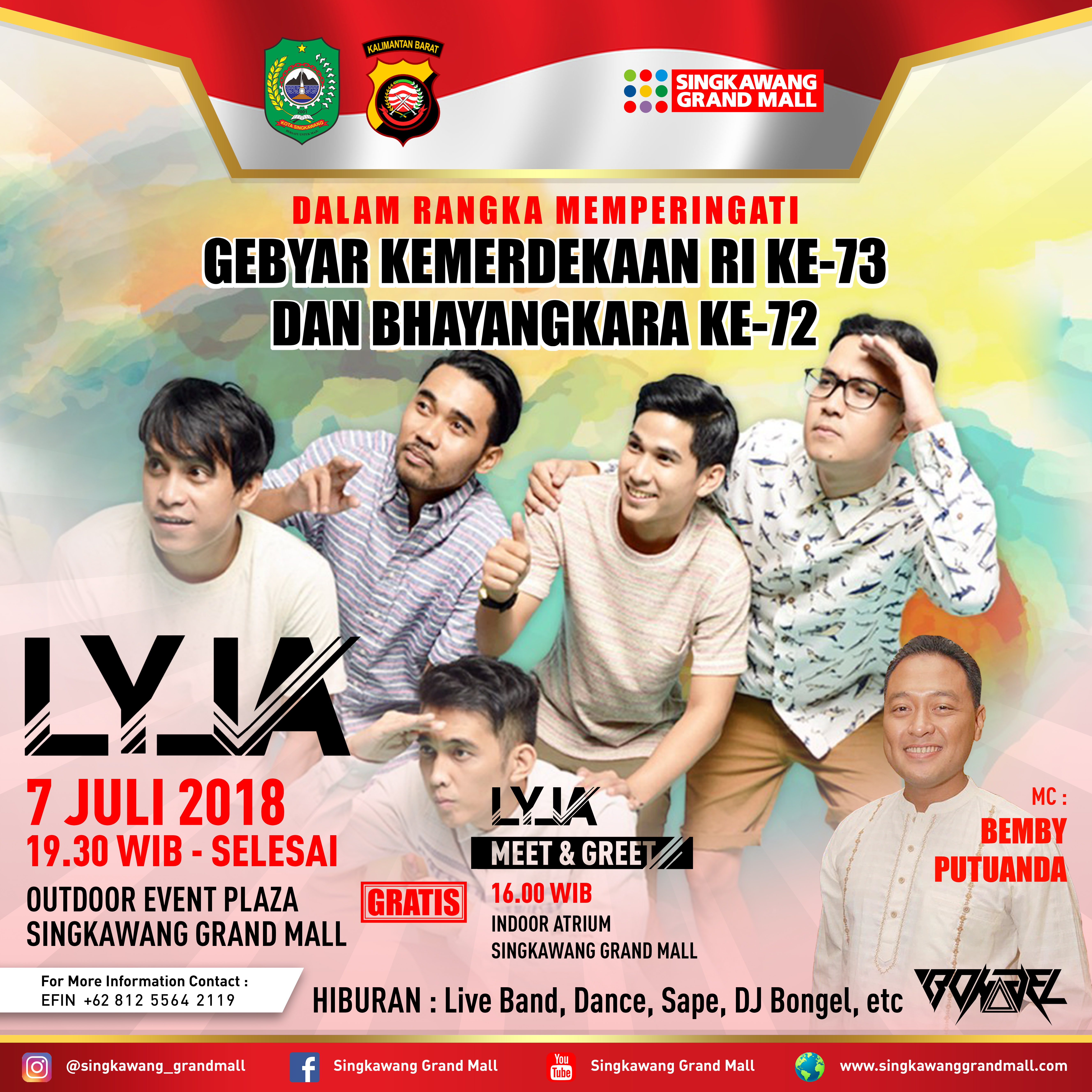 Lyla Band Singkawang Grand Mall