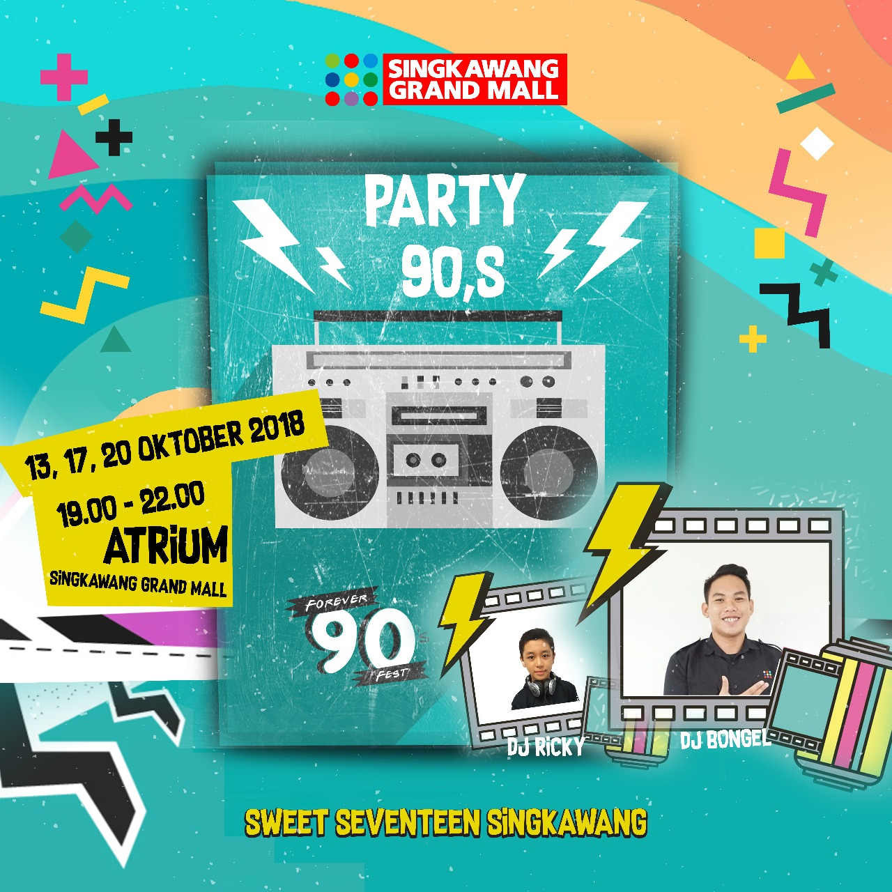 Party 90 SIngkawang Grand Mall