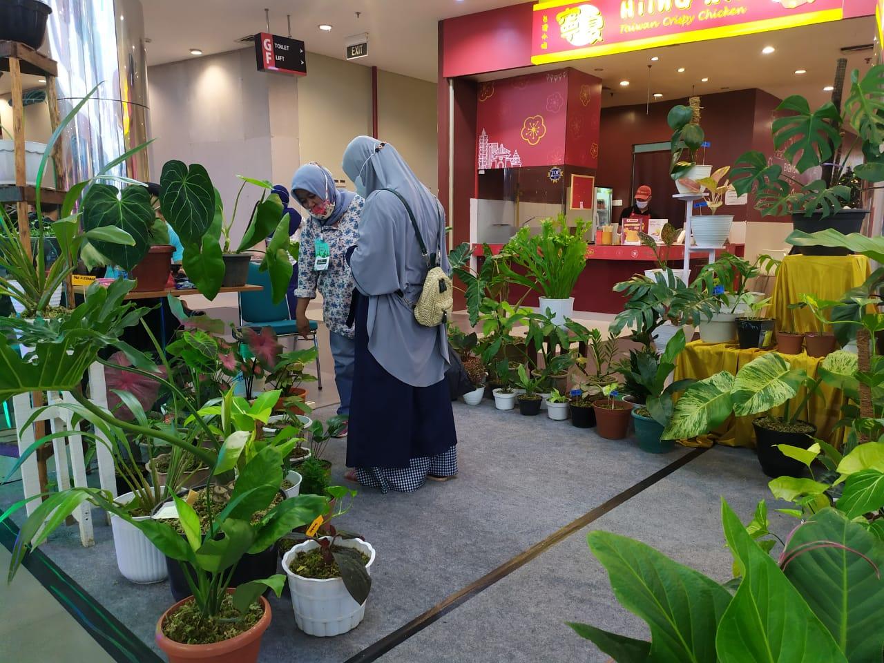 Pameran Tnaman Hias Singkawang Grand Mall