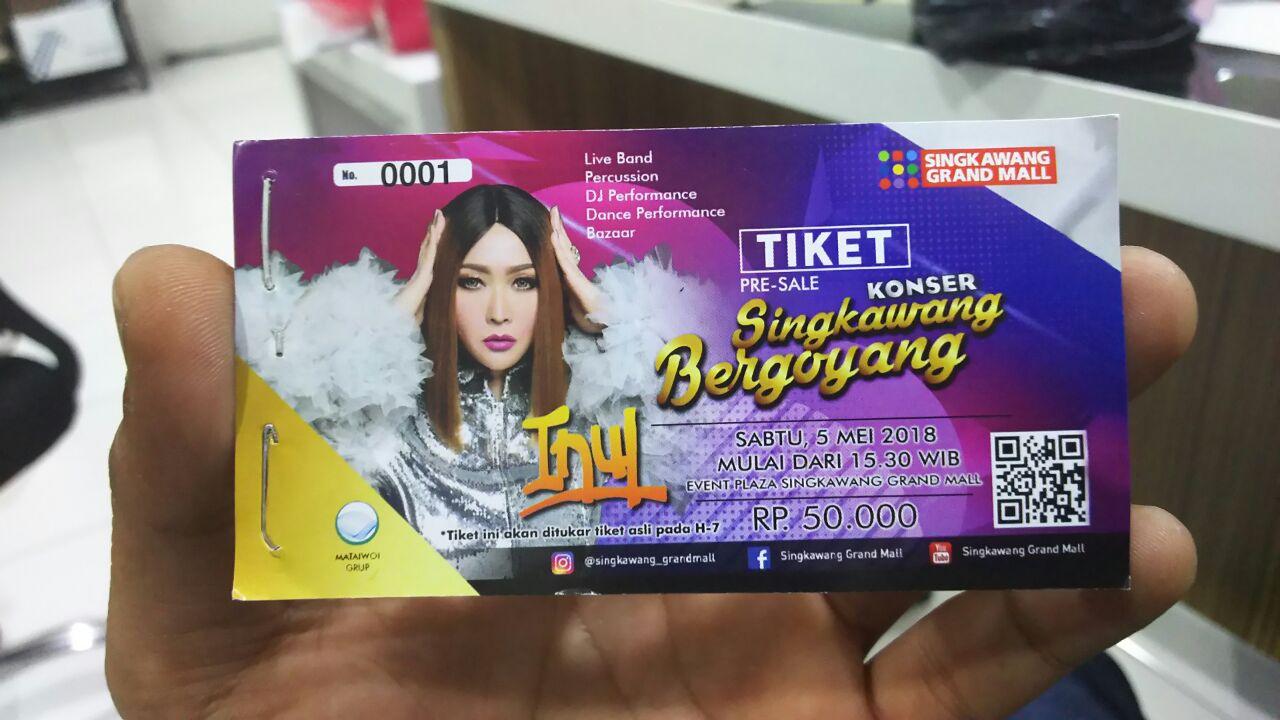 Tiket Inul Singkawang Grand Mall